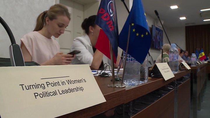 Tot mai multe femei, implicate în politică! Andrian Candu: O doamnă înseamnă chiar şi un lider politic
