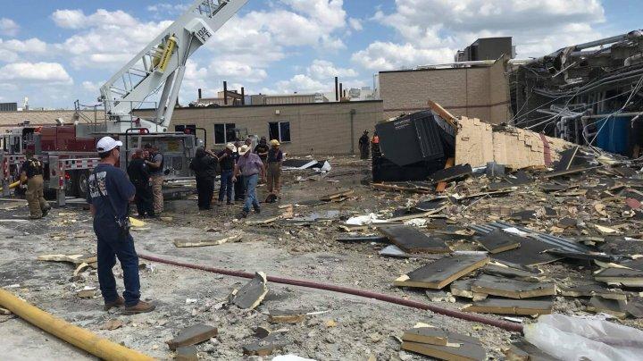 Explozie într-un spital din Texas: O persoană a murit şi 12 au fost rănite (VIDEO)