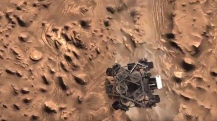 FURTUNĂ URIAȘĂ PE MARTE. Intemperiile au afectat un sfert din teritoriul planetei (VIDEO)