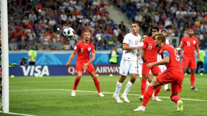 Reprezentativa Angliei s-a calificat în optimile de finală ale Campionatului Mondial de fotbal