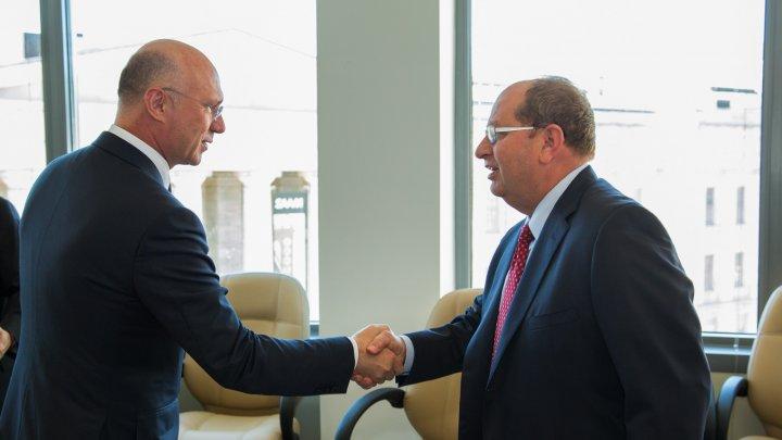 Pavel Filip încurajează companiile americane să investească în Republica Moldova