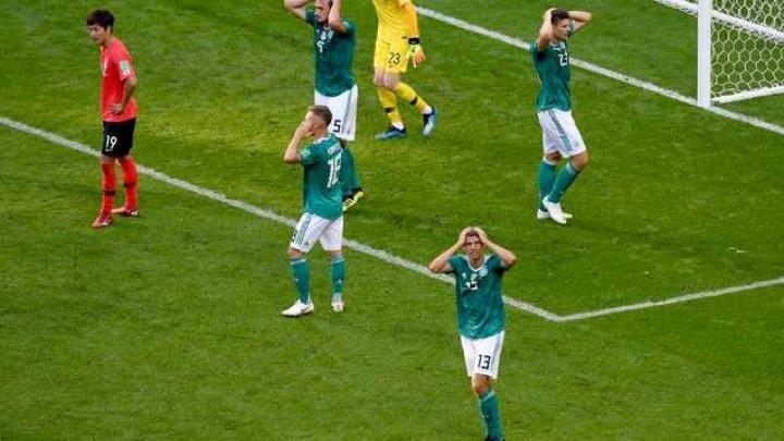 Auf Wiedersehen! Germania a fost eliminată de la Campionatul Mondial