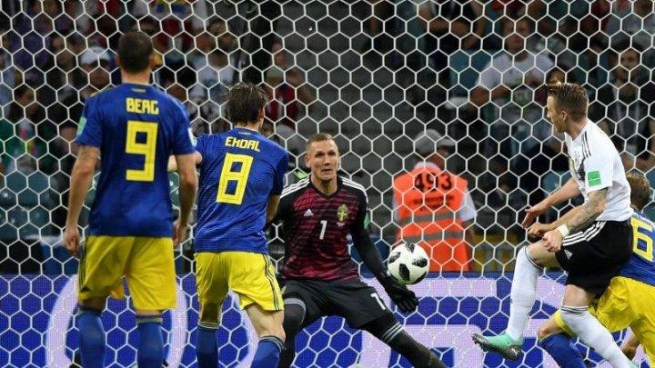 Victorie pe muchie de cuţit! Germania a câştigat în faţa Suediei cu 2-1