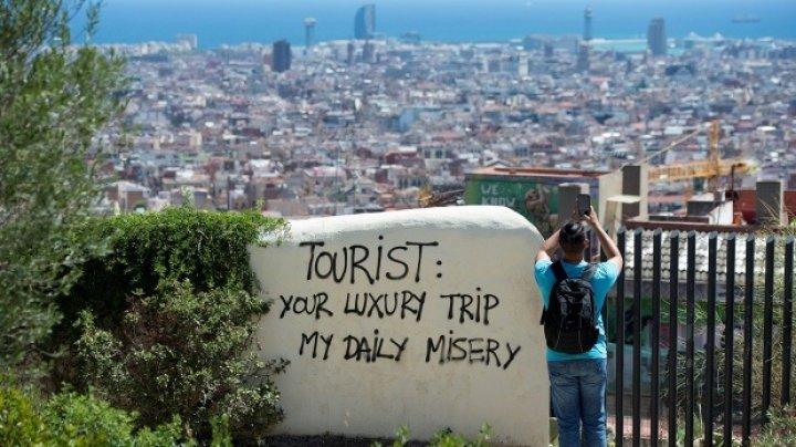 Barcelonezii consideră că numărul în creștere al turiștilor este mult mai îngrijorător decât cel al imigranților