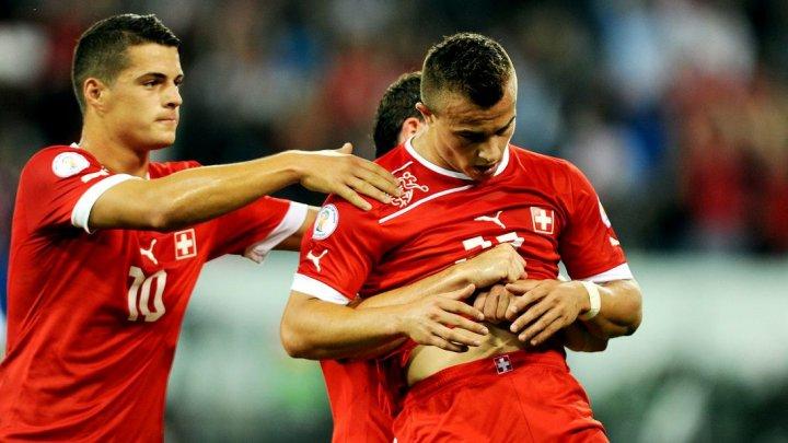 Xhaka, Shaqiri şi Lichtsteiner, amendați de FIFA