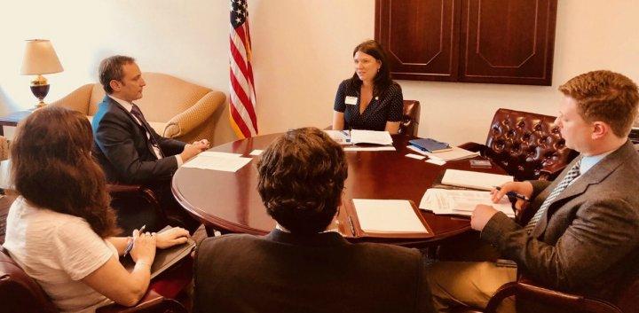 Dezvoltarea relațiilor comercial-economice între  Republica Moldova și SUA, discutate la Washington (FOTO)