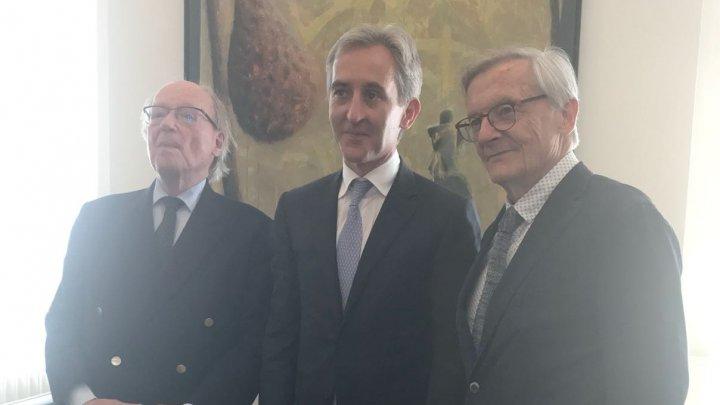 Vicepremierul pentru Integrare Europeană, Iurie Leancă, a întreprins o vizită la Viena