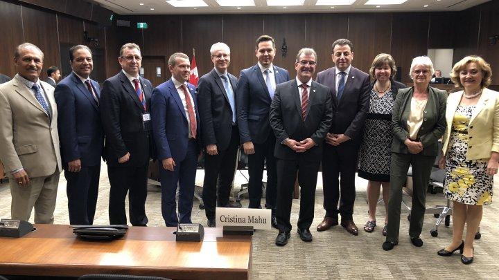 Canada susține eforturilor Guvernului pro-european de la Chișinău în consolidarea instituțiilor democratice