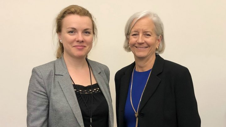 Tatiana Molcean, a încurajat participarea companiilor din SUA în plasarea investițiilor în diverse sectoare ale economiei naționale