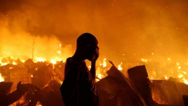 Tragedie în Kenya. Cel puţin 15 persoane au murit şi alte peste 70 au fost rănite într-un incendiu