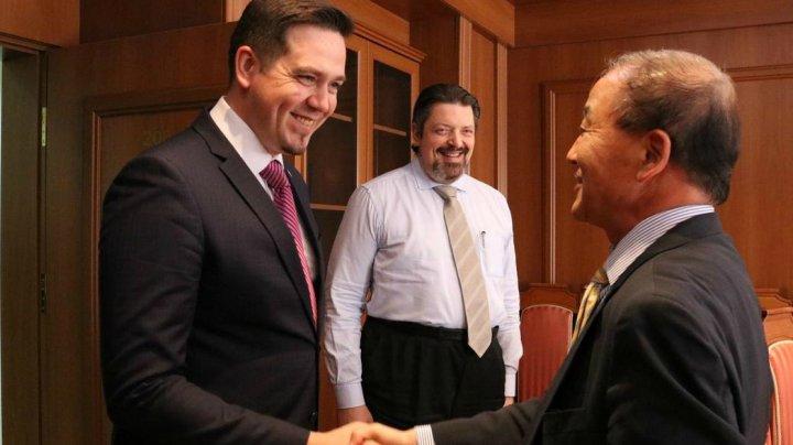 Republica Moldova este interesată în aprofundarea relațiilor cu Republica Coreea