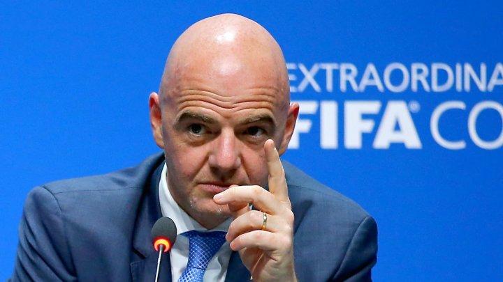Gianni Infantino: Qatar s-ar putea opune desfăşurării Cupei Mondiale în 2022 cu 48 de echipe