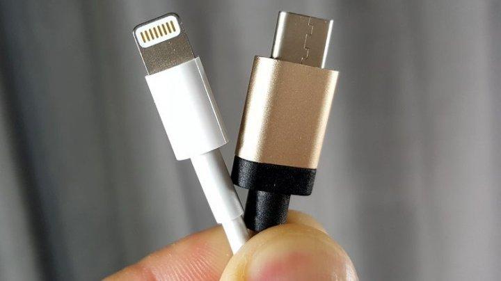 Viitoarele iPhone-uri ar putea trece la USB Type-C