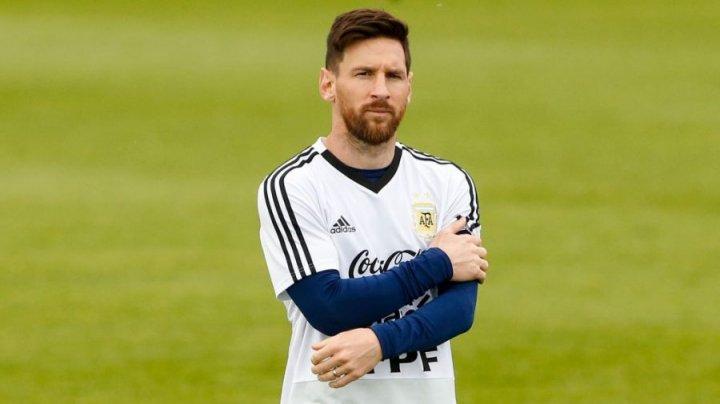 Lionel Messi, supus unui control antidoping inopinat la baza de cantonament de la Bronniţi