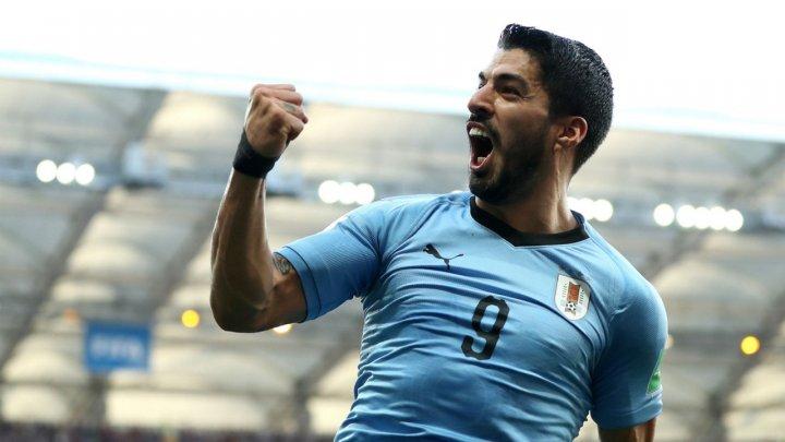 Campionatul Mondial de Fotbal 2018: Selecţionata Uruguayului a învins Rusia, cu scorul de 3-0
