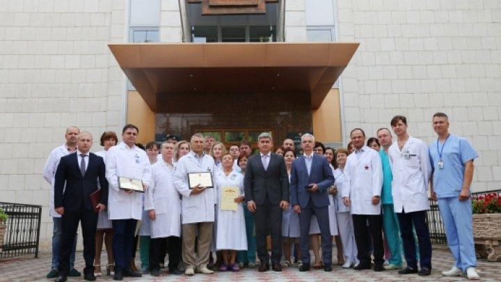 Serviciul medical al Ministerului Afacerilor Interne a fost menționat cu Titlul de Onoare