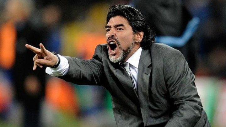 Cupa Mondială 2018: Maradona se oferă să antreneze gratis selecţionata Argentinei