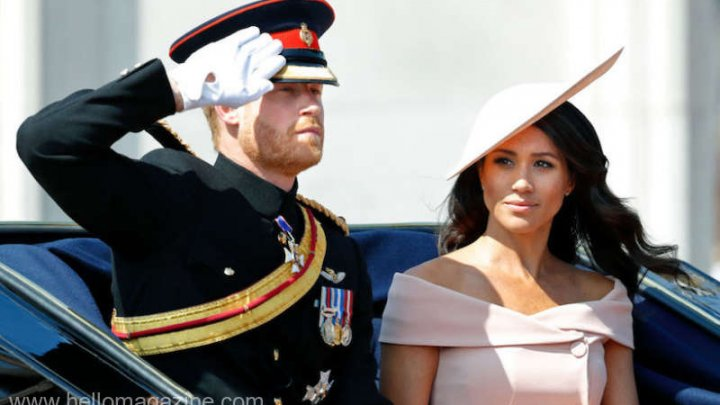Meghan Markle a fost admirată şi criticată la parada Trooping the Colour de ziua reginei