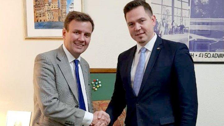Tudor Ulianovschi: Republica Moldova este interesată în dezvoltarea comerțului cu Regatul Unit