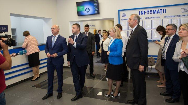 Un nou Centru multifuncțional al Agenției Servicii Publice, deschis la Fălești. Filip: Le veți oferi cetățenilor servici de calitate
