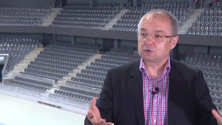 Primarul Clujului, Emil Boc: Un complex sportiv modern va transforma Chişinăul într-un oraş al viitorului