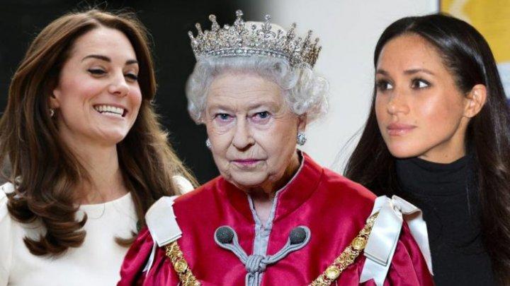 Regina Elisabeta a II-a şi Meghan Markle vor călători cu trenul la un eveniment oficial. Kate Middleton nu a avut onoarea