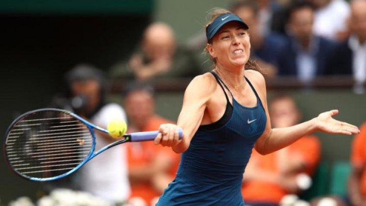 Rusoaica Maria Şarapova se retrage de la turneul de la Birmingham