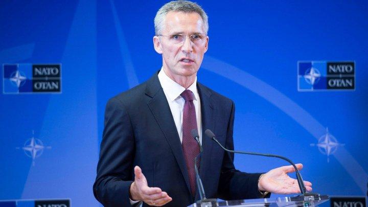 Secretarul general al NATO l-a felicitat pe Erdogan pentru realegerea în funcţia de preşedinte al Turciei