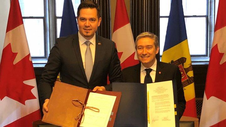 Republica Moldova și Canada au semnat Acordul privind promovarea și protejarea reciprocă a investițiilor