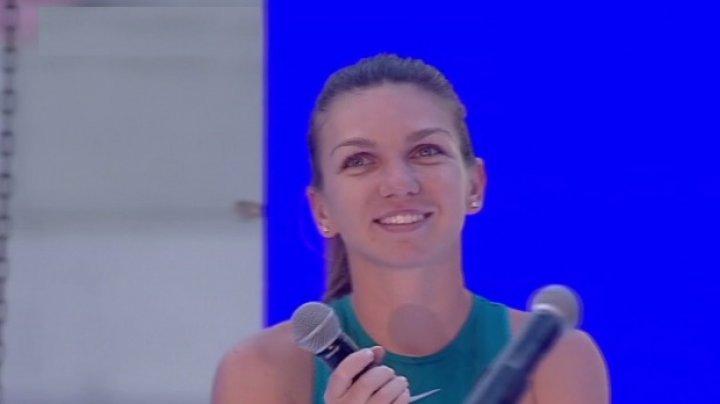 Simona Halep, ceremonie cu surprize la Arena Națională: Sunt foarte mândră că sunt româncă