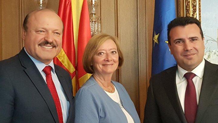 Valeriu Ghilețchi, în discuții cu prim-ministrul Zoran Zaev: Succesul Macedoniei încurajează Republica Moldova în eforturile privind integrarea europeană