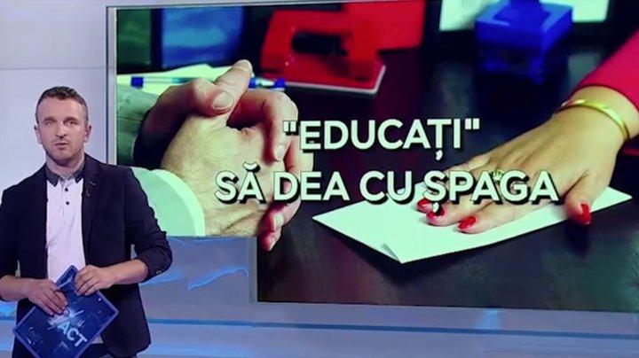 Corupţia în domeniul Educaţiei?! Ce scheme de mituire sunt folosite la examenele de BAC