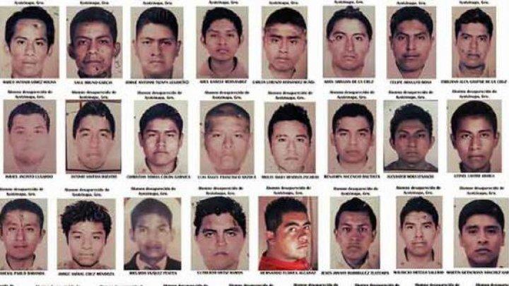 Un tribunal din Mexic a ordonat să redeschidă o nouă anchetă în cazul dispariţiei a 43 de studenţi (FOTO)
