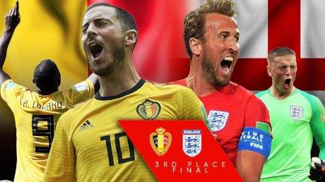 Belgienii îşi doresc victorie în finala mică a Campionatului Mondial de Fotbal