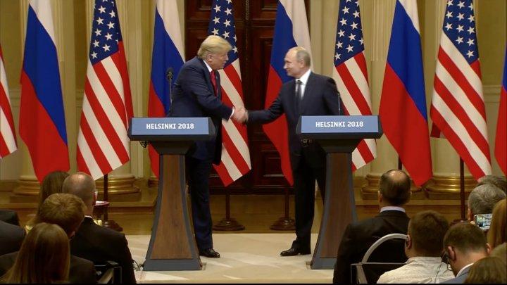 Întâlnirea dintre Trump și Putin s-a încheiat. La ce concluzii au ajuns cei doi după summit-ul de la Helsinki (FOTO/VIDEO)