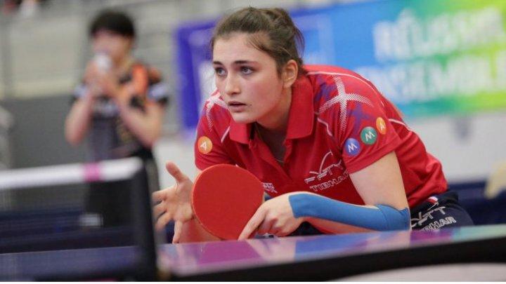 Jucătoarea Natalia Brînza a evoluat în optimile de finală ale Europenelor la tenis de masă