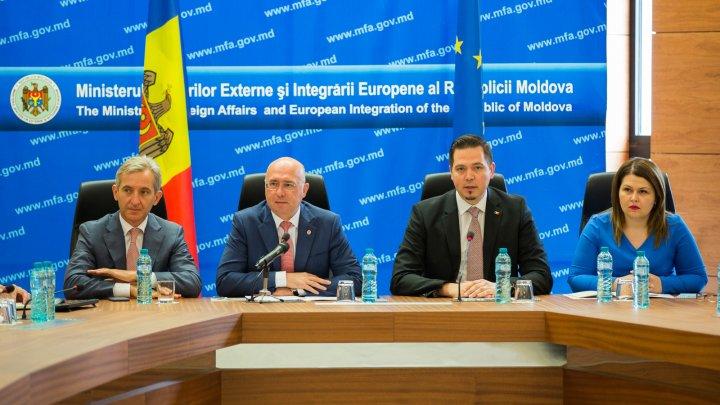 Viceprim-ministrul Cristina Lesnic a participat la Reuniunea anuală a diplomației moldovenești