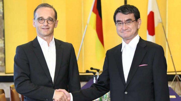 Japonia şi Germania se unesc în faţa politicilor protecţioniste ale lui Trump