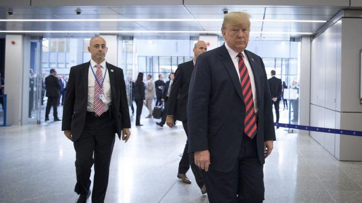 """Donald Trump: Angajamentul SUA faţă de NATO """"rămâne foarte puternic"""""""