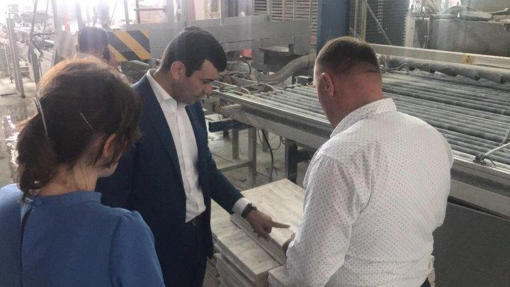 Chiril Gaburici a încurajat rezidenții ZEL să-și extindă activitatea, asigurându-i cu suport din partea Ministerului Economiei