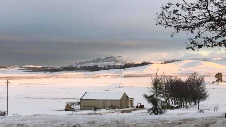 A nins în Africa de Sud. Stratul de zăpadă a atins 10 centimetri (FOTO)