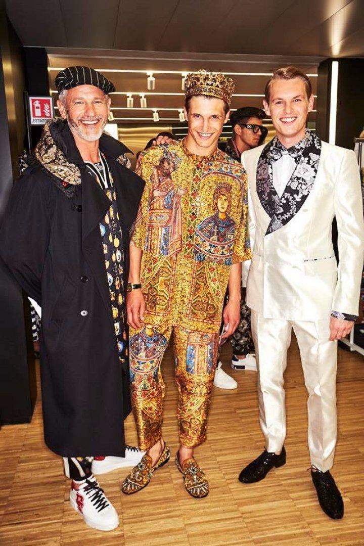 Vadim Mamot, moldoveanul care duce faima Moldovei și a defilat pentru Dolce&Gabbana