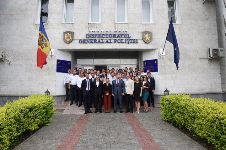 42 de angajați din structurile de aplicare a legii vor fi instruiți în domeniul analizei strategice (FOTO)