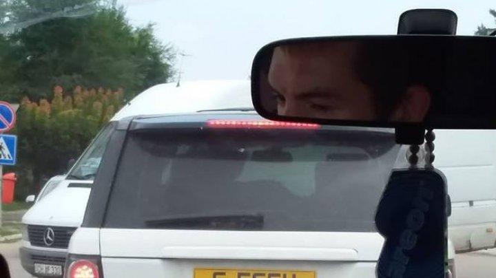 Şefu' s-a întors în Moldova! Imaginea virală cu ce număr de înmatriculare şi-a pus un bărbat la maşină (FOTO)