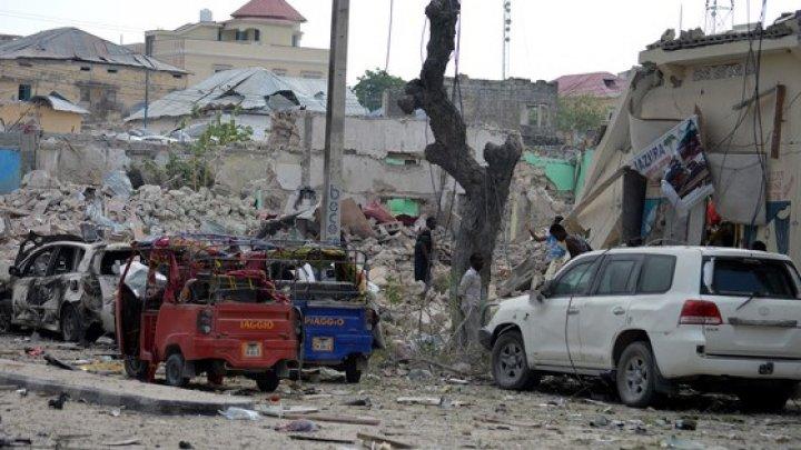 ATAC CU BOMBĂ în capitala Somaliei: Cel puţin şapte persoane au fost rănite