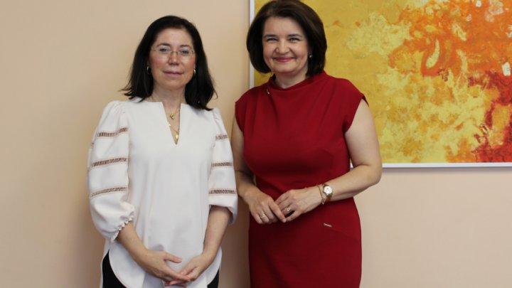 Monica Babuc a avut o întrevedere cu viceguvernatorul Băncii de Dezvoltare a Consiliului Europei, Rosa María Sánchez-Yebra Alonso