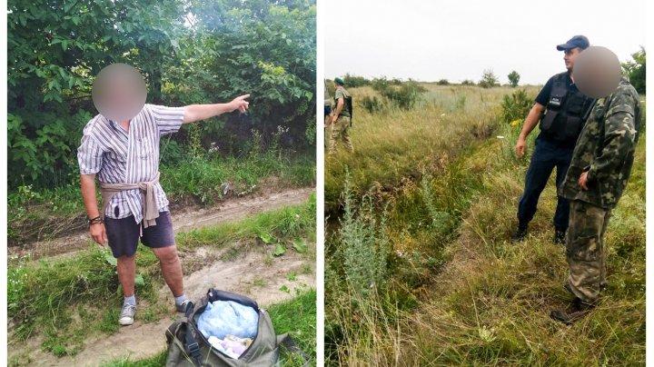 Doi bărbaţi au fost reţinuţi în timp ce încercau să treacă ilegal frontiera dintre Republica Moldova şi Ucraina