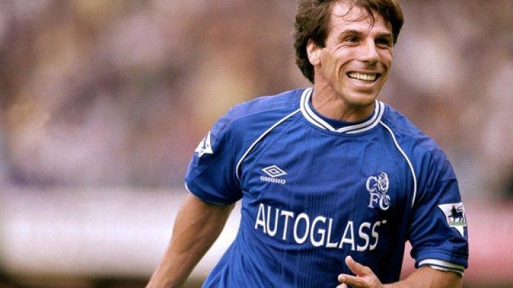 Gianfranco Zola, secundul lui Sarri pe banca tehnică a echipei Chelsea