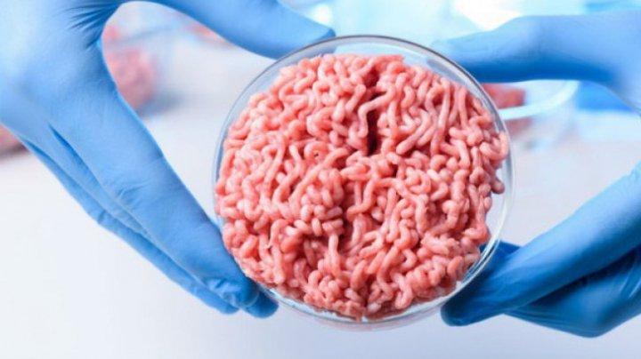 """Descoperirea secolului. Cum arată """"carnea"""" crescută în laborator"""