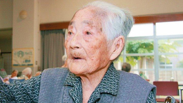 Japoneza Chiyo Miyako, cea mai în vârstă persoană din lume, a murit la 117 ani